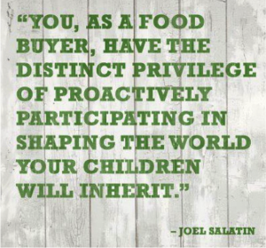 Therese Kerr Joel Salatin Quote