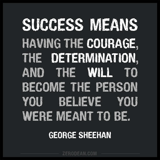 success-means-having-the-courage-the-determination-and-the-will-george-sheehan